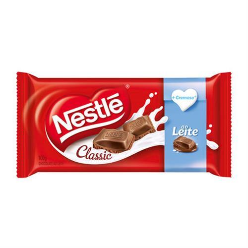 Foto CHOCOLATE CLASSIC C/LECHE 90GR NESTLE PLAST de