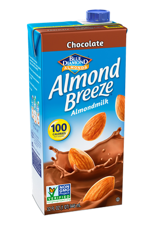 Foto BEBIDA DE ALMENDRA CHOCOLATE 946ML BLUE DIAMOND TETRA  de