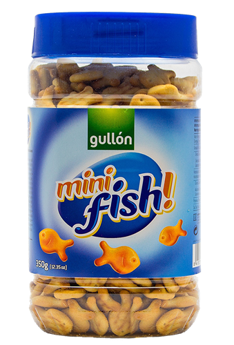 Foto GALLETITAS SALADAS MINI FISH 350GR GULLON POT de