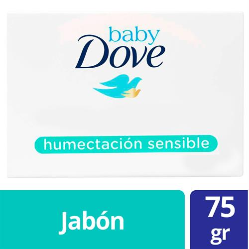 Foto JABON TOCADOR BABY HUMECTACION SENSIBLE 75G DOVE CJA de