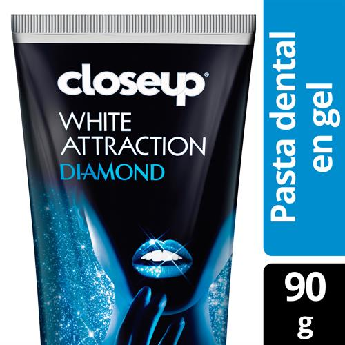Foto CREMA DENTAL WHITE ATTRACTIONDIAMOND90GR CLOSE UP CJA  de