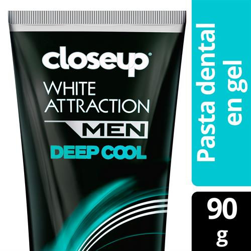Foto CREMA DENTAL WHITE ATTRACTIONMEN DEEP COOL90GRCLOSE UP CJA  de