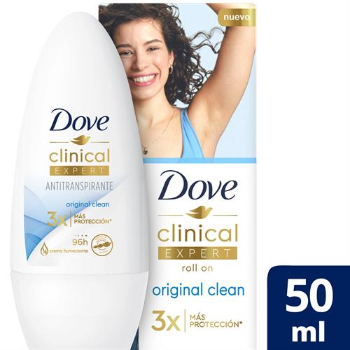Foto ANTITRANSP DEO ROL CLINICAL ORIG DOVE 50ML CJA de