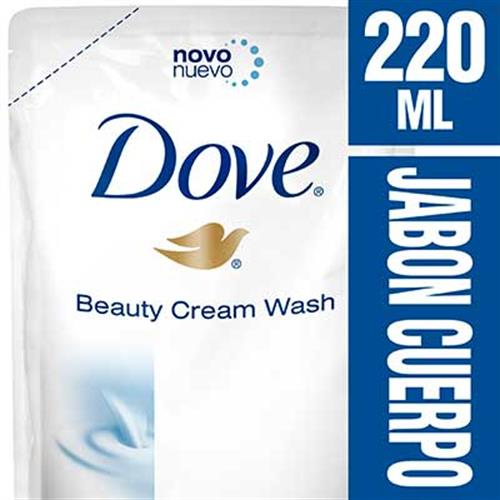 Foto JABON LIQUIDO P/MANOS BEAUTY CREAM WASH REP 220ML DOVE de