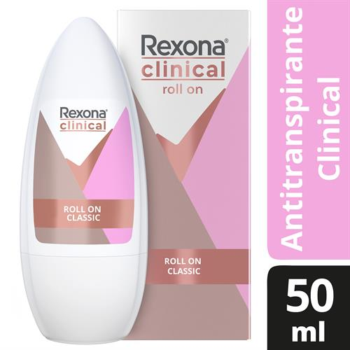 Foto DESODORANTE CLINICAL CLASSIC 50ML REXONA CJA de