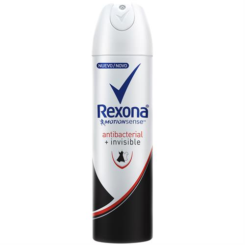 Foto DESODORANTE WOMEN ANTIBACTERIAL INVISIBLE 150ML REXONA AER de