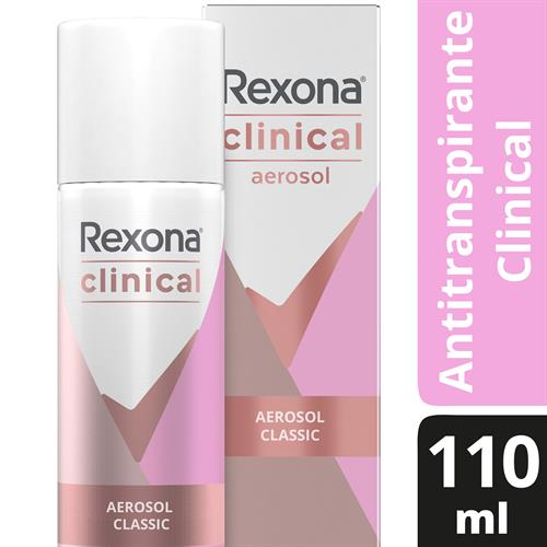 Foto DESODORANTE CLINICAL AER 3X CLASSIC 110ML REXONA CJA de
