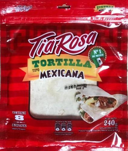 Foto TORTILLAS TIA ROSA TIPO MEXICANA 8UN 240GR BSA de