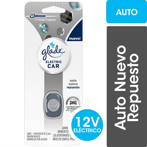 Foto AROMATIZANTE ELECTRIC AUTO CAR 32ML GLADE REPUESTO BLIS de