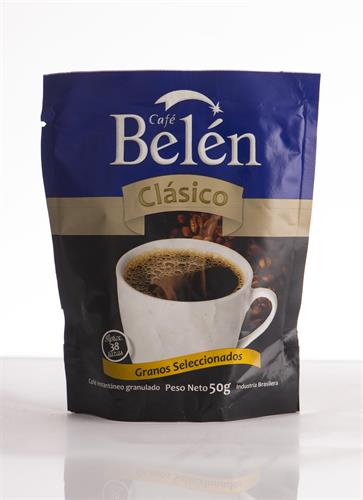 Foto CAFE BELEN SOLUBLE CLASICO 50GRAMOS POUCH de
