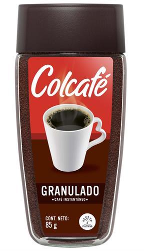 Foto CAFE SOLUBLE GRANULADO COLCAFE 85GR FCO de