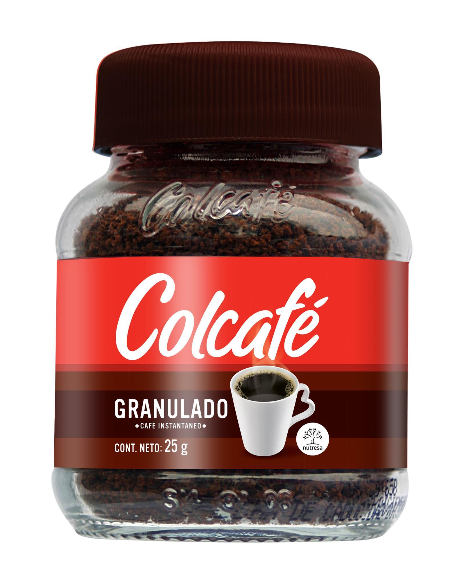 CAFE SOLUBLE GRANULADO COLCAFE 25GR FCO