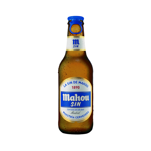 Foto CERVEZA SIN ALCOHOL 250 ML MAHOU BOT. de
