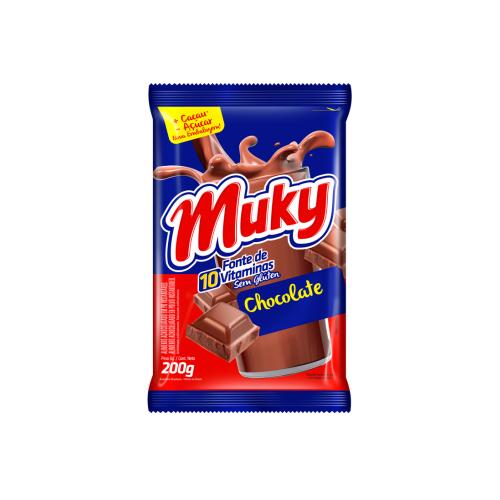 Foto CHOCOLATE EN POLVO BOLSA MUKY 200gr de