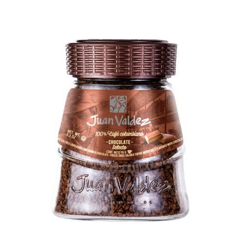 Foto CAFE SOLUBLE CHOCOLATE 95 GR JUAN VALDEZ FCO de