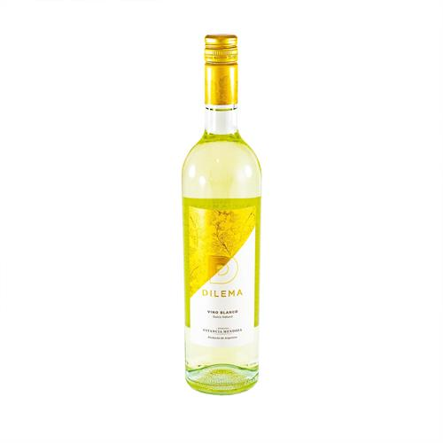 Foto VINO BLANCO DULCE NATURAL DILEMA 750ML ESTANCIA MENDOZA BOT de