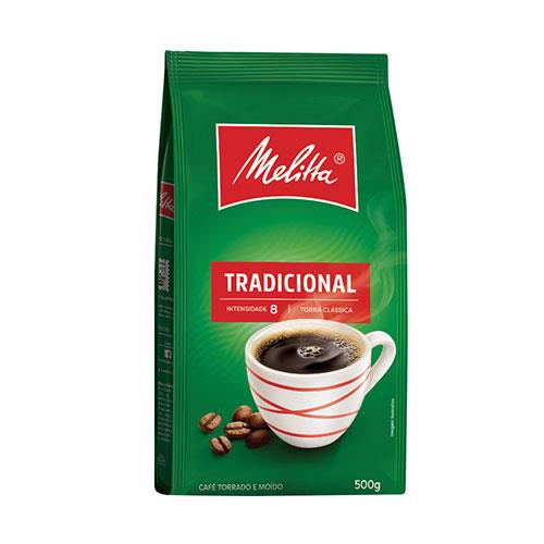 Foto CAF TRADICIONAL MELITTA POUCH 500 GR de