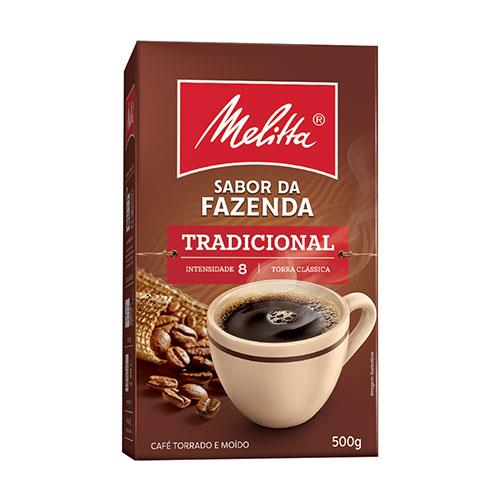 Foto CAFE SABOR FAZENDA TRADICIONAL 500GR MELITTA CJA de