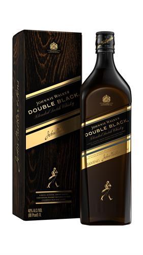 Foto WHISKY DOUBLE BLACK 750ML JOHNNIE WALKER BOT C/CAJA de