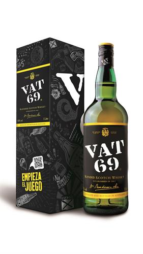 Foto WHISKY VAT 69 BOTELLA 1 LITRO . SIN CAJA de