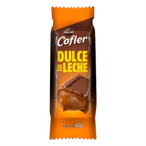 Foto CHOCOLATE C/DULCE D/LECHE 42GR COFLER PAQ de