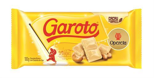 Foto TABLETA DE CHOCOLATE GAROTO OPERETA 90GR PLAST de