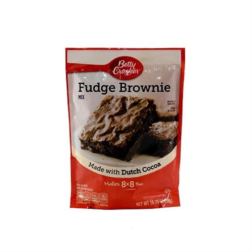 Foto MEZCLA BROWNIE MIX FUDGE 290 GR BETTY CROCKER PLAS de