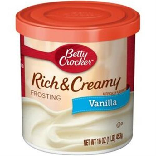 Foto MEZCLA RC FROSTING VANILLA 453 GR BETTY CROCKER POT de