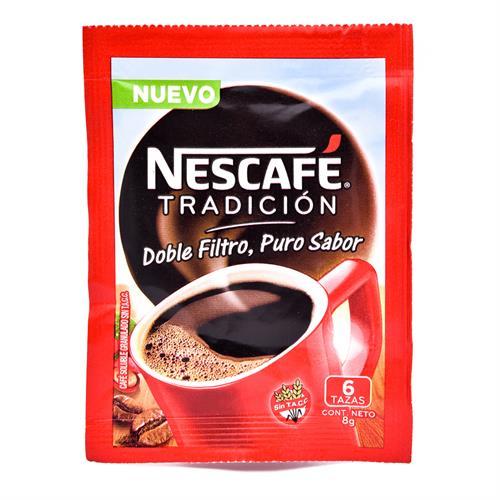 Foto CAFE NESCAFE INSTANTANEO CLASICO 8 GR de
