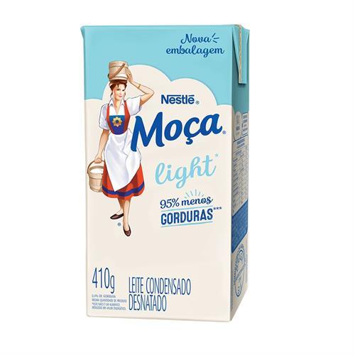Foto LECHE CONDENSADA LIGHT MOCA 410GR NESTLE de