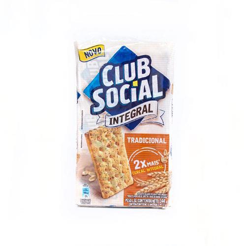 Foto GALLETITA INTEGRAL 26GR X 6UN CLUB SOCIAL PAQ  de