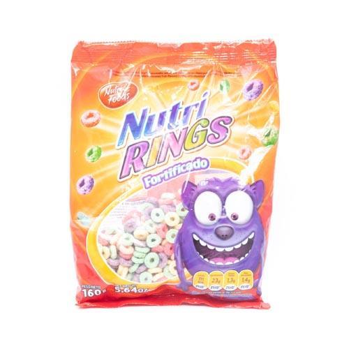 Foto CEREAL ANILLOS NUTRI RINGS 160GR NUTRI FOODS BSA de