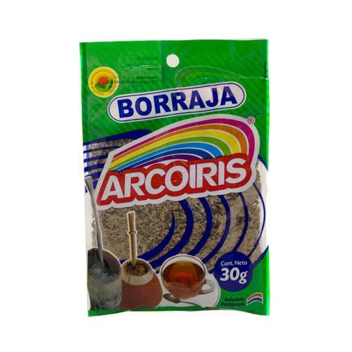 Foto BORRAJA 30GR ARCOIRIS PAQ de