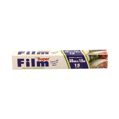 Foto FILME PVC 28CMX15MT SUPER CJA de