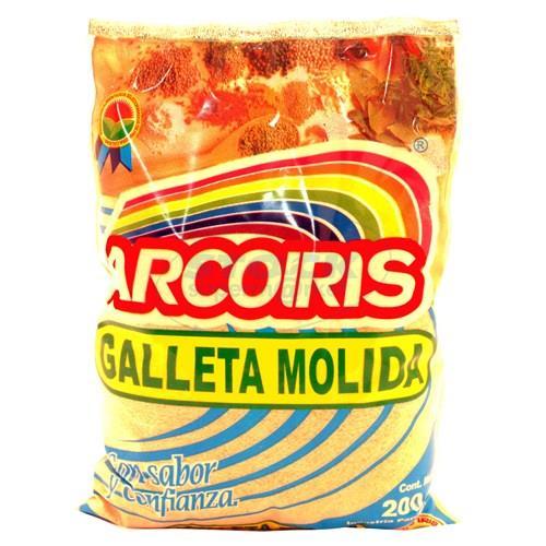 Foto GALLETA MOLIDA ARCO IRIS PAQUETE 2 de