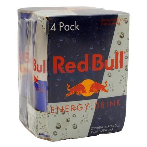 Foto PACK RED BULL ENERGIZANTE 250ML X4UN de