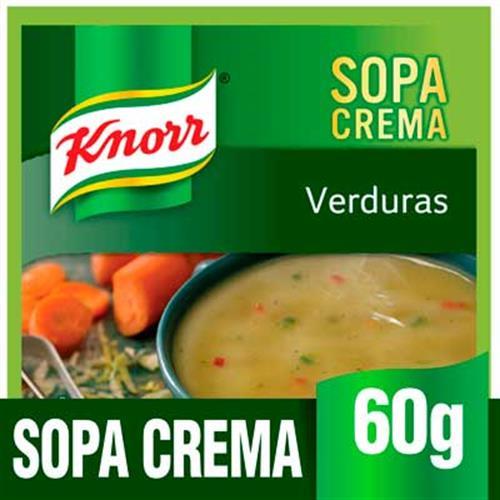 Foto SOPA D/VERDURA 10X60GR KNORR PLA de