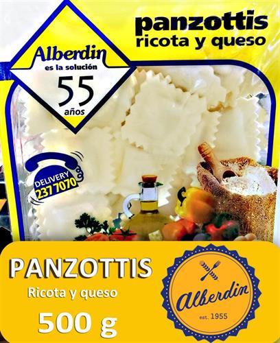 Foto PANZOTTIS D/RICOTA Y QUESO 500GR ALBERDIN PAQ de