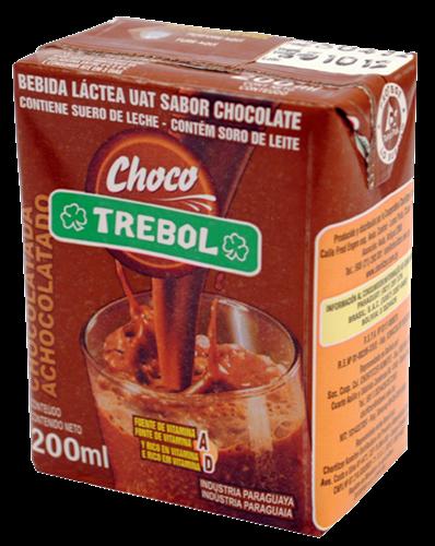 Foto CHOCOLATADA TREBOL TETRA BRIK 200ML de
