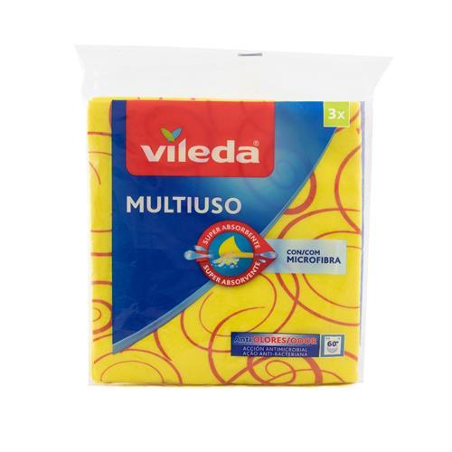 Foto PAÑO VILEDA MULTIUSO/30 MF 3 UNID BSA de