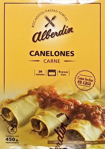 Foto CANELONES D/CARNE 450GR ALBERDIN CJA de