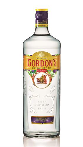Foto GIN GORDON BOTELLA 1 LITRO . LONDON de