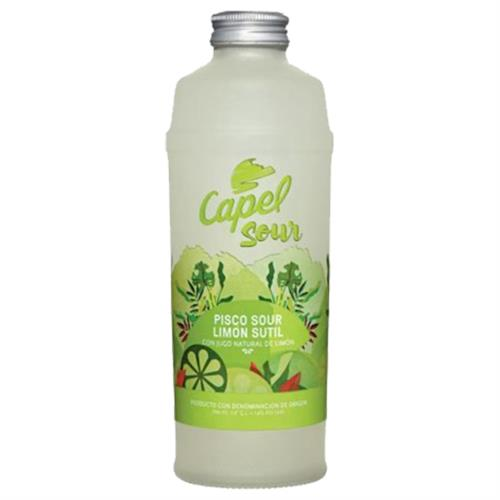 Foto COCTEL PISCO LIMON SUTIL 700 ML CAPEL BOT  de
