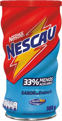 Foto NESTLE NESCAU CHOCOLATE EN POLVO MENOS AZUCARES 380 GR de