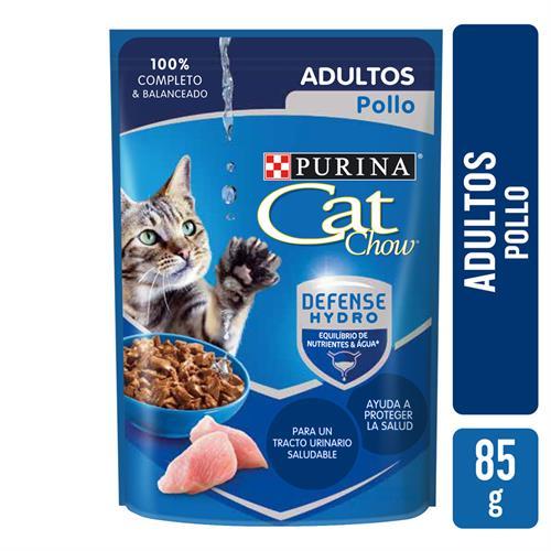 Foto ALIMENTOS HUMEDOS CAT CHOW ADULTOS POLLO X 0.85 GR de