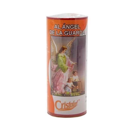 Foto VELA CRISTALVEL N.7 ANGEL DE LA GUARDA 300 GR de