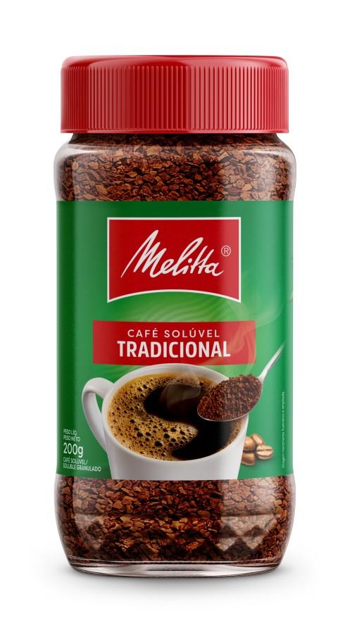 CAFE SOLUBLE TRADICIONAL MELITTA 200gr