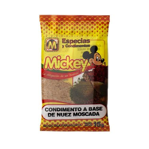 Foto CONDIMENTO A BASE DE NUEZ MOSCADA MICKEY 15GR de