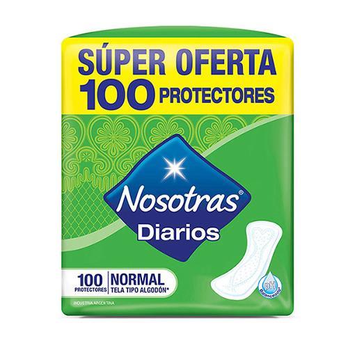 Foto PROTECTOR DIARIO NORMAL NOSOTRAS 100UNID de