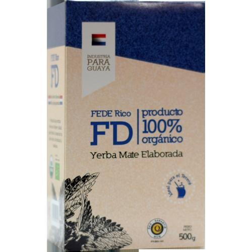Foto YERBA MATE ELABORADA FEDE RICO FD 500GR de